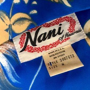 Vintage Tops - 1970s Vintage Hawaiian BabyDoll Top